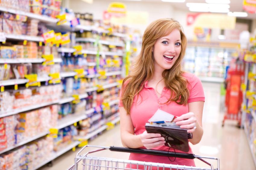 Cheque repas au supermarché