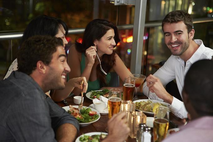 Utilisation du chèque repas dans un restaurant