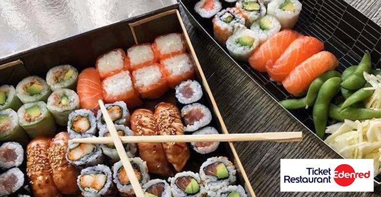 Sushi Shop ticket restaurant :  à vos baguettes !